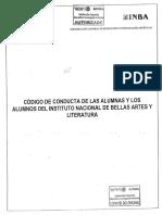 Código de conducta estudiantil de México