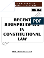 Latest Constitutional Law Cases