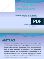 43.Malware Propagation in Large Scale Networks Docx