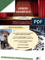 GÉNERO DRAMÁTICO 2