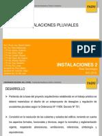 Instalaciones II - Retardadores Pluviales