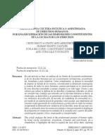 2. Crítica a Una Cultura Estática y Anestesiada de Derechos Humanos - David Sánchez