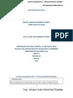 Leccion Evaluativa 2. Reconocimiento Unidad 1 Miguel Jaime.doc