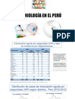 CASO CLÍNICO Y EPIDEMIOLOGIA