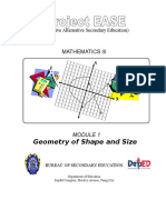 EASE Module 1 Geometry of Shape and Size.doc