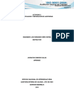 Planificacion y Reparacion de de Auditorias