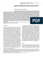 A Novel PD-L1-Targeting Antagonistic DNA Aptamer With Copy