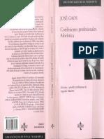 Confesiones Profesionales Gaos, J.