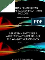 PELATIHAN SOFT SKILLS ASISTEN PRAKTIKUM BIOLOGI.pptx