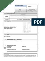 formato revision instrucccion de obra