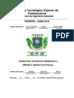 U5_DISEÑOS FACTORIALES