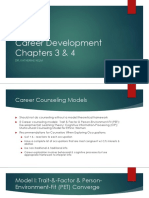 Career Development Chapters 3 & 4