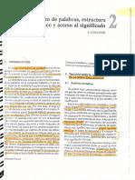 Psicología del lenguaje. López-Higes Cap. 2
