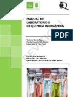 Manual laboratorio de química inorgánica