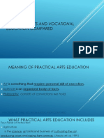 CHAPTER 2- Practical Arts and Vocational Education Compared