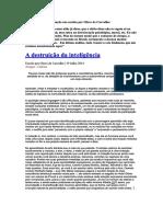 Destruição Da Inteligência - Olavode Carvalho