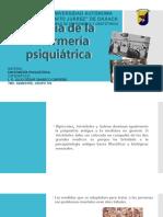 Historia de La Enfermería Psiquiátrica