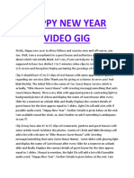 Gig of New Year 2018 Videos.docx