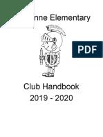 Club Handbook 19 - 20 - Google Docs