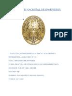 4 Informe de Introducion Al Diseño Electrico