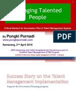 Managing Talented People by Pungki Purnadi