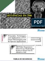 secuencias de IRM