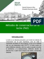 7. Metodos de Conservación de La Leche FAO