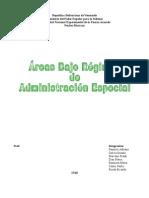 Áreas Bajo Régimen de Administración Especial (ABRAES)