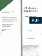 El Quijote Para Jóvenes Versión de Felipe Garrido