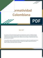 Normatividad Colombiana