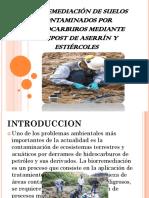 Biorremediación de Suelos Contaminados Por Hidrocarburos Mediante Compost