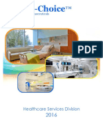 2016 Hospital Services Catalog