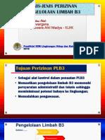 Jenis-jenis Perizinan Pengelolaan LB3