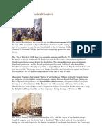 19th Century Historical Context