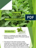 1Stevia Presentation
