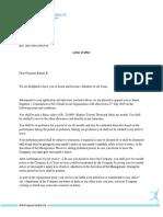 jmc offer letter