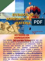ESTADOS DE AGREGACION DE LA MATERIA [Autoguardado].ppt