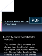 Nomenclature of Inorganic Compounds