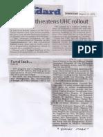 Manila Stamdard, Aug. 29, 2019, Fund lack threatens UHC rollout.pdf