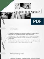 4. Psicología Social de La Agresión