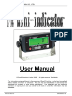 Excell Precision Fm Manual de Usuario