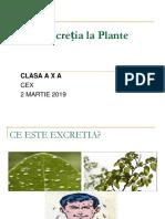 Excretia La Plante