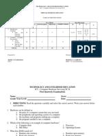 235349633 First Quarter Exam on CHS