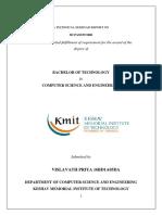 Virtual Reality Technical Seminar Report