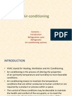Air Conditioning (Part a)