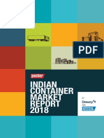 Indian Container Market Report-2018