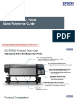 Sales Reference For Epson Sales