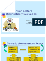 Comprension Lectora Diagnostico y Evaluacion