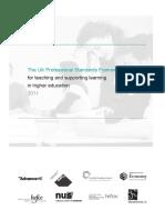UK Professional Standards Framework