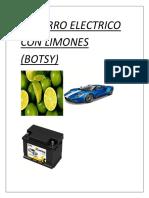 El Carro Electrico Con Limones